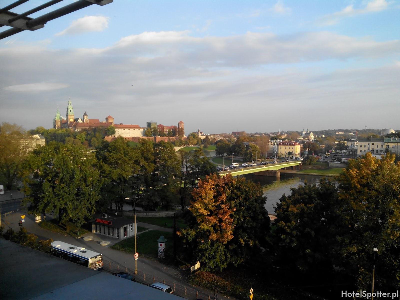 Novotel Krakow Centrum - widok na Wawel