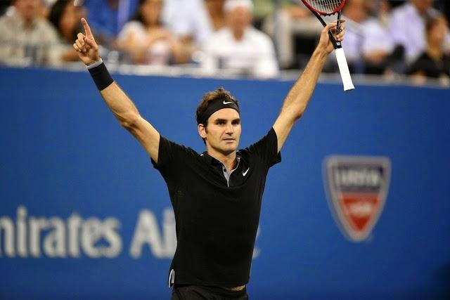 roger federer reaches us open 2014 semifinal