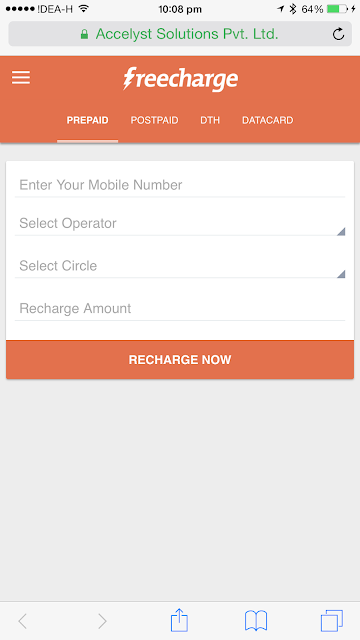 FreeCharge launches revamped version of its mobile site which is significantly lighter and faster to use