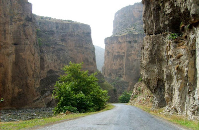 Cehennem Deresi Canyon road