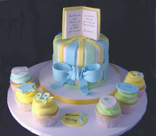 Baby Shower Cakes for boys
