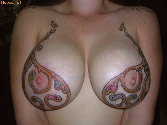 Tattos On Tits 11
