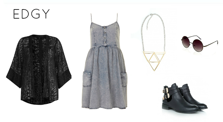 Edgy Fashion Kimono Trend