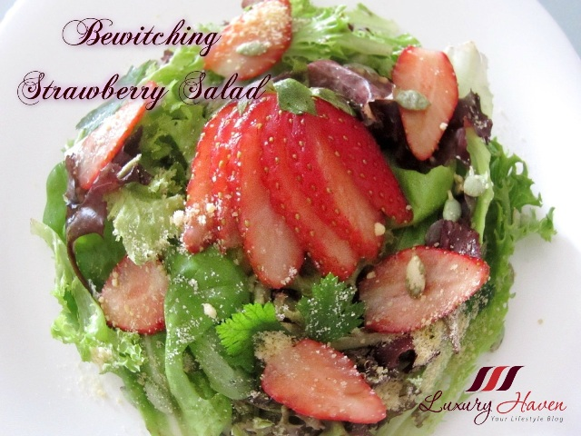 bewitching valentines day strawberry salad recipes