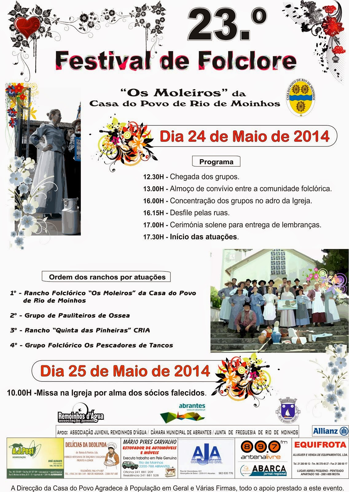 23º Festival de Folclore 2014