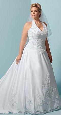 Vestidos de novia para gorditas maduras