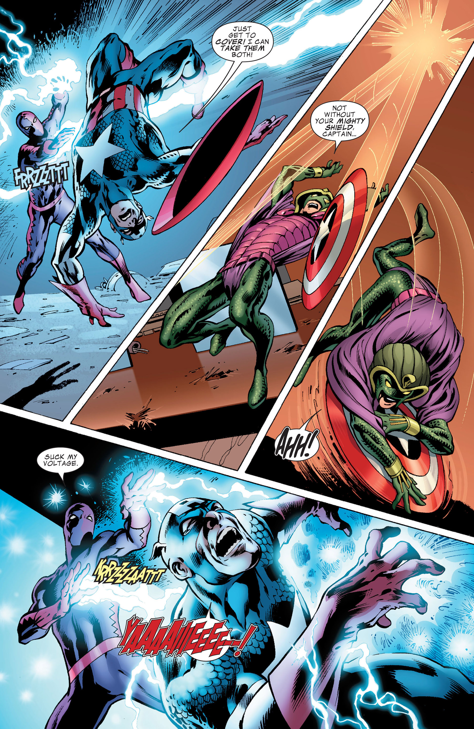 Captain America (2011) Issue #8 #8 - English 5