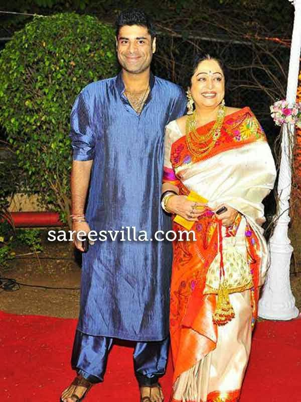 Kirron Kher with son Sikander