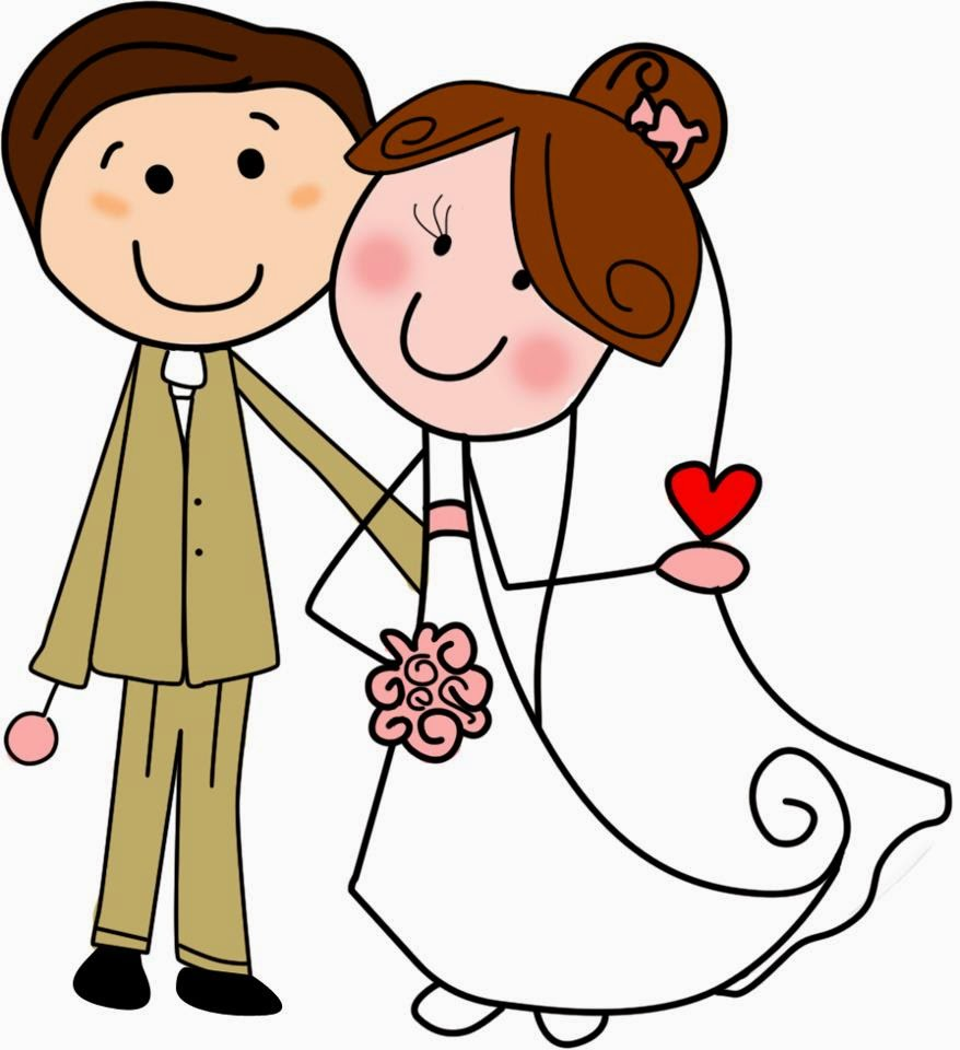 Matrimonio Catolico Caricatura : Imágenes de caricaturas parejas novios vestidos para