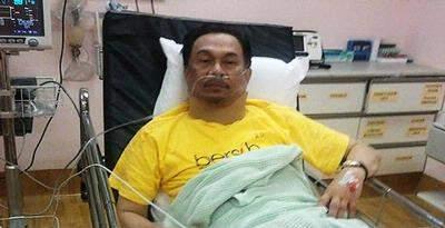 anwar ibrahim wounded