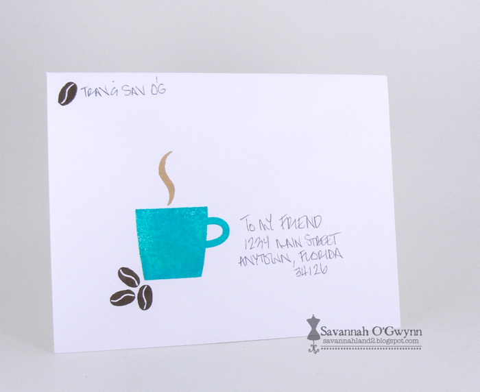 virtual smooches creating envelope stickers decorating envelopes