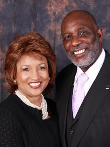 Bishop McKinzie & Husband Stan McKinzie