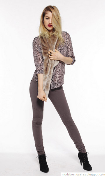 Mab moda invierno 2012. Looks casual chic.