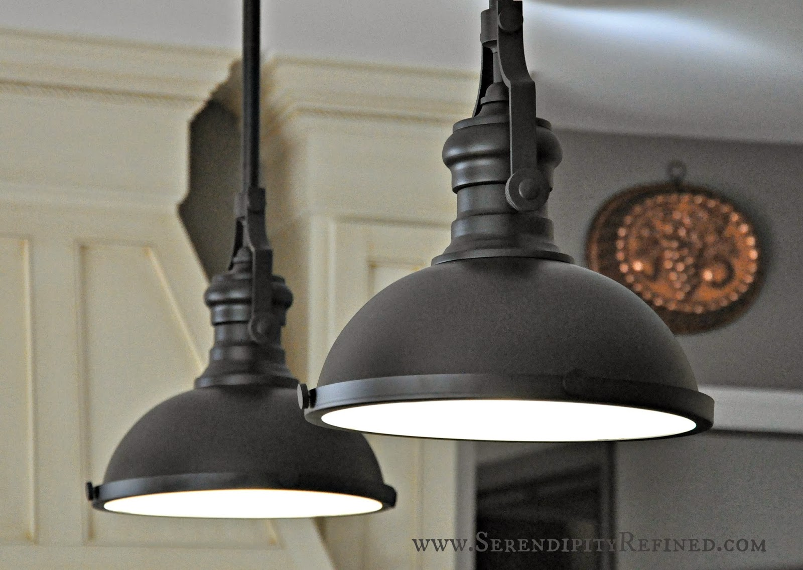 Serendipity Refined Blog French Farm House Kitchen Progress Paint and Light