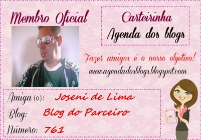 Carteirinha do Blog Agenda dos Blogs