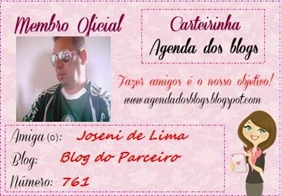 Carteirinha do Blog Agenda dos Blogs