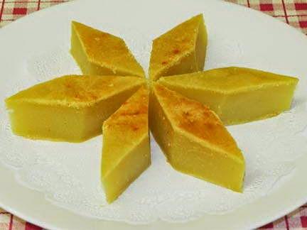 Grilled Mung Bean Cake (Bánh Đậu Xanh Nướng)