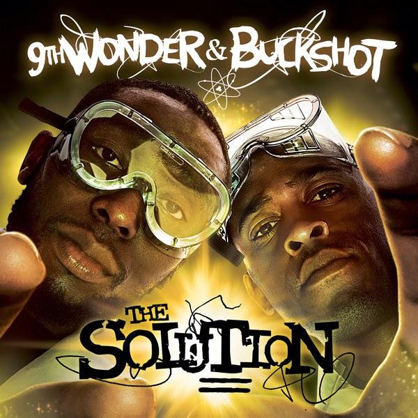 9th Wonder & Buckshot - The Solution Cover