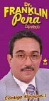 Doctor Franklin Peña Al SENADO con el Estamos bien representados.