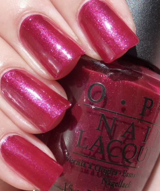 Congeniality Is My Middle Name, OPI, Miss Universe, swatches