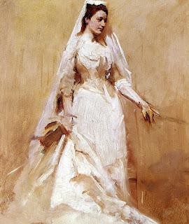 A Bride - 1895 AH Thayer