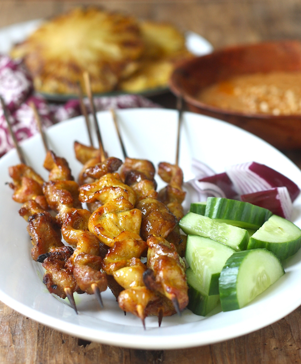Malaysian chicken satay season with spice malaysian satay chicken recipe by seasonwithspice forumfinder Images