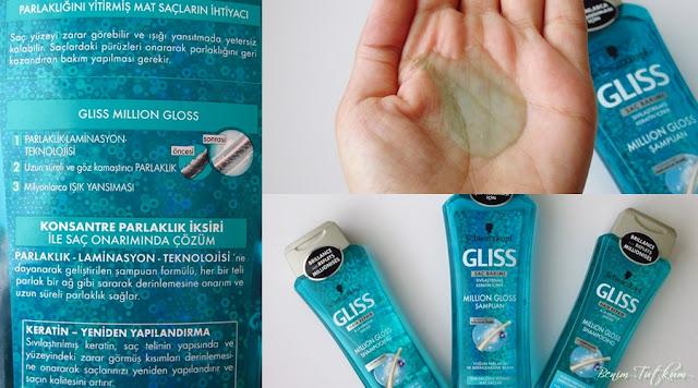 Schwarzkopf Gliss Million Gloss Şampuan - Parlaklığını Yitirmiş Mat Saçlar