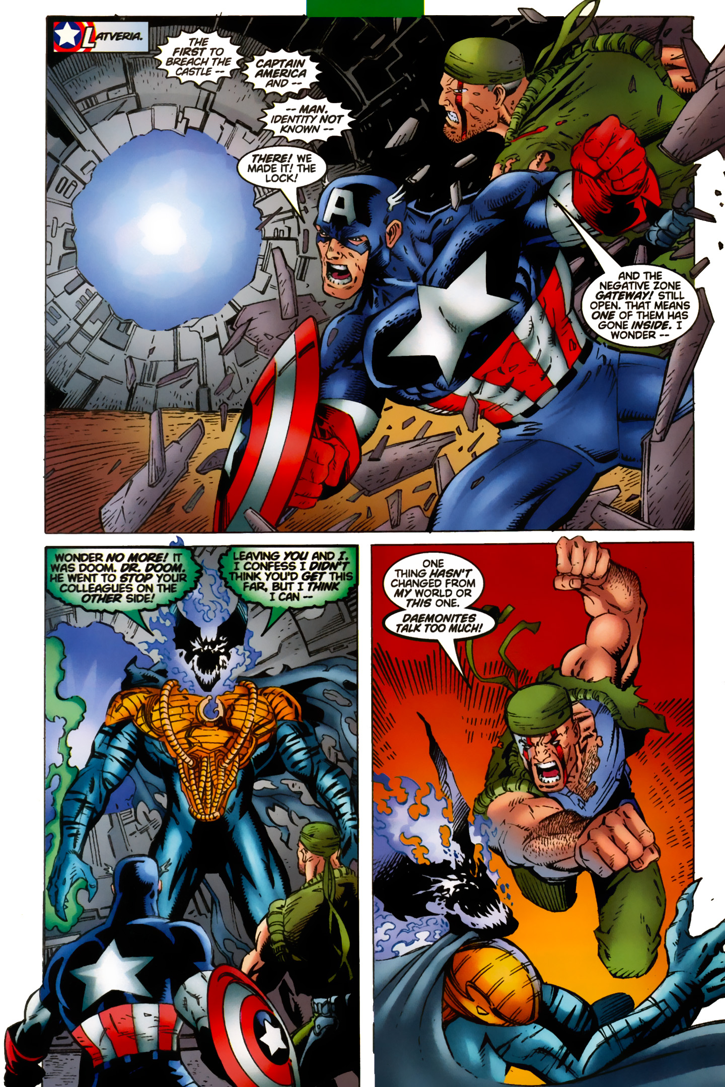 Captain America (1996) Issue #13 #19 - English 18