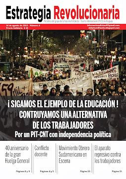 Periódico Estrategia Revolucionaria nº4