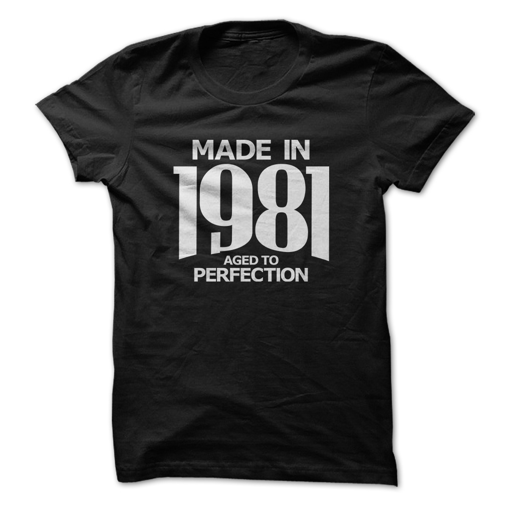 Aged To Perfection Birthday Gift T Shirt