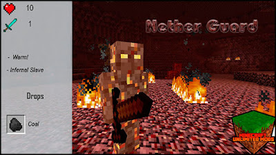 XtraCraft Mod nether guard