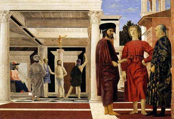 La flagelación de Piero della Francesca