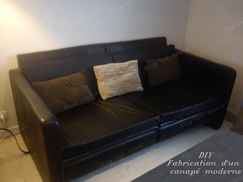 Pin fabriquer un fauteuil en bois on pinterest - Fabriquer son canape ...