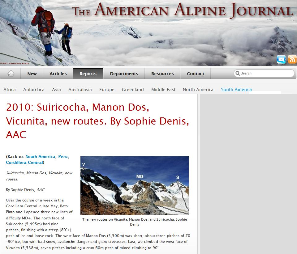 AAC Publications - Search The American Alpine Journal and ...