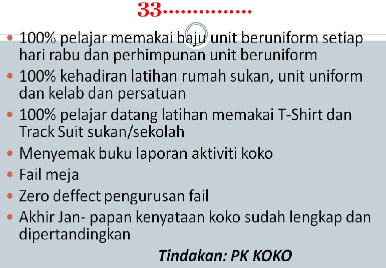 KPI KOKURIKULUM 2