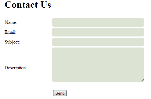 How to create Contact Us page in Asp.net - ASPMANTRA | Asp ...