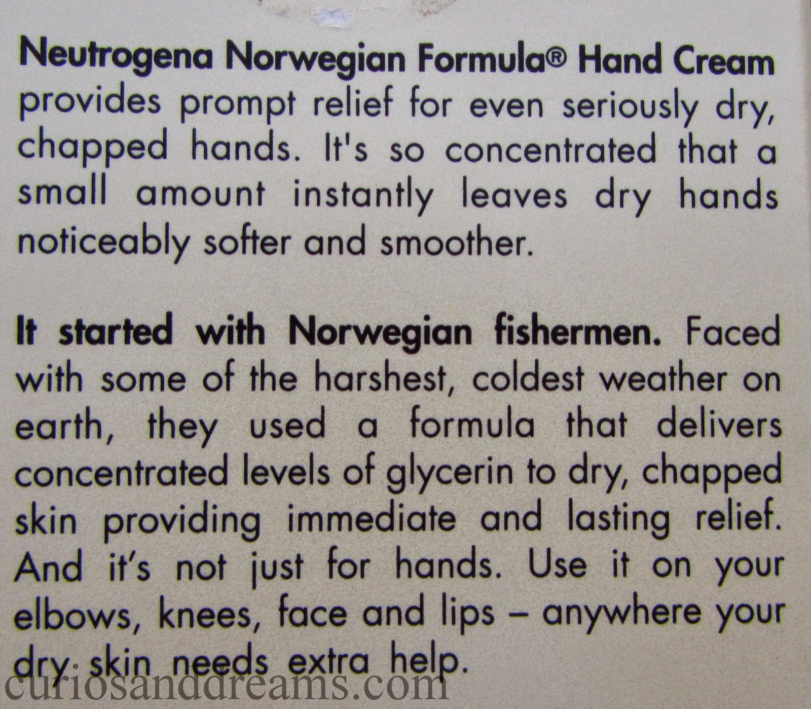 Neutrogena Norwegian Formula Hand Cream review, Neutrogena Hand Cream review