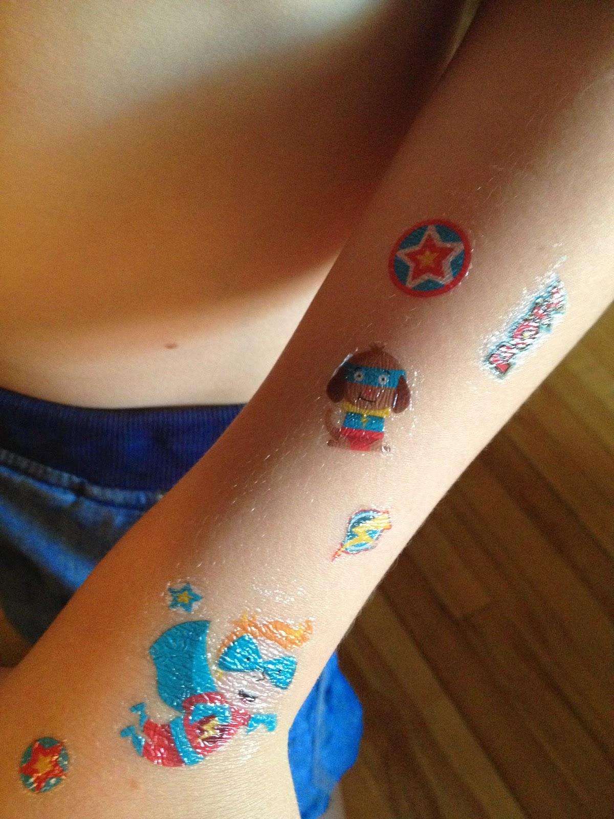 tatouage temporaire pierre - MagicTattoo