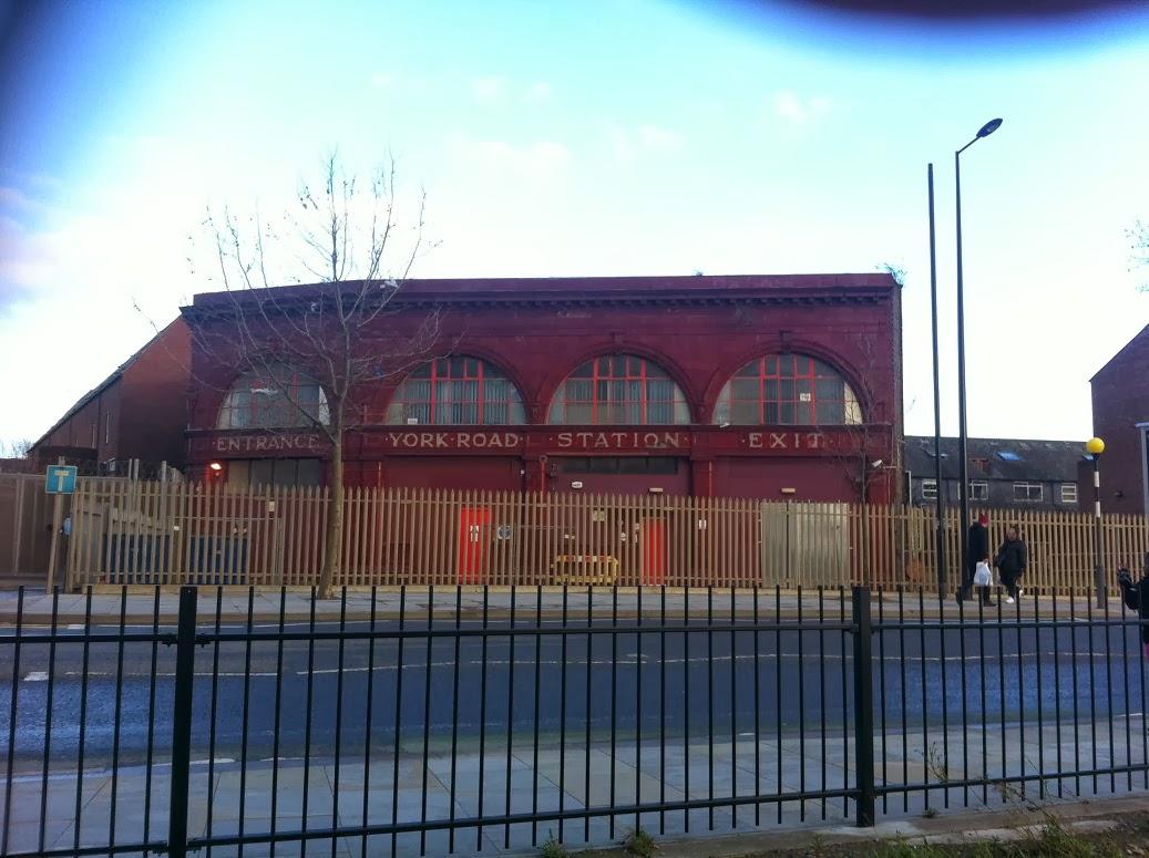York Road disused London Underground station, Kings Cross