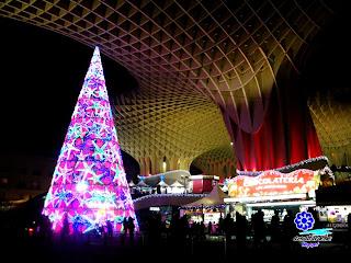 Sevilla - Navidad 2012 - Plaza de la Encarnación  08