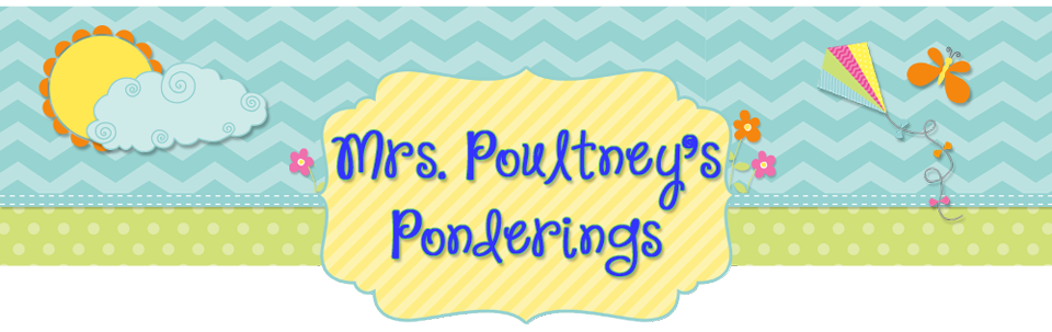 Mrs Poultney&#39;s Ponderings