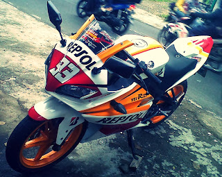 Modif New Vixion 2013 ala Moto GP Marq Marquez