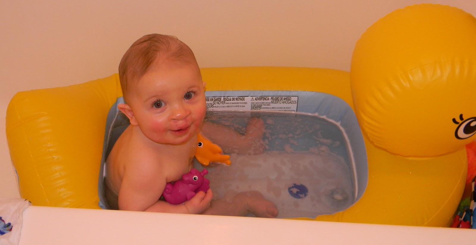 The Garretts Are Growing!: Big Boy Bath!