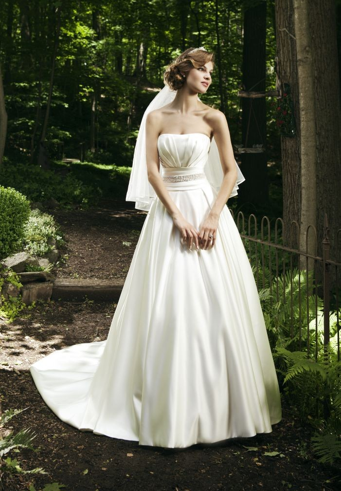 Whiteazalea simple dresses intoxicating simple wedding for Satin a line wedding dress