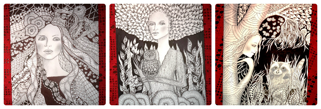 365 days Zentangle/Mailart/Artjournal Project