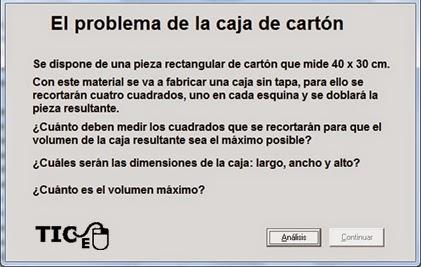 The cardboard problem.