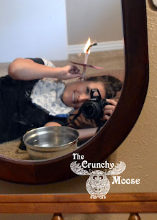 Ear Candling Process - thecrunchymoose.com