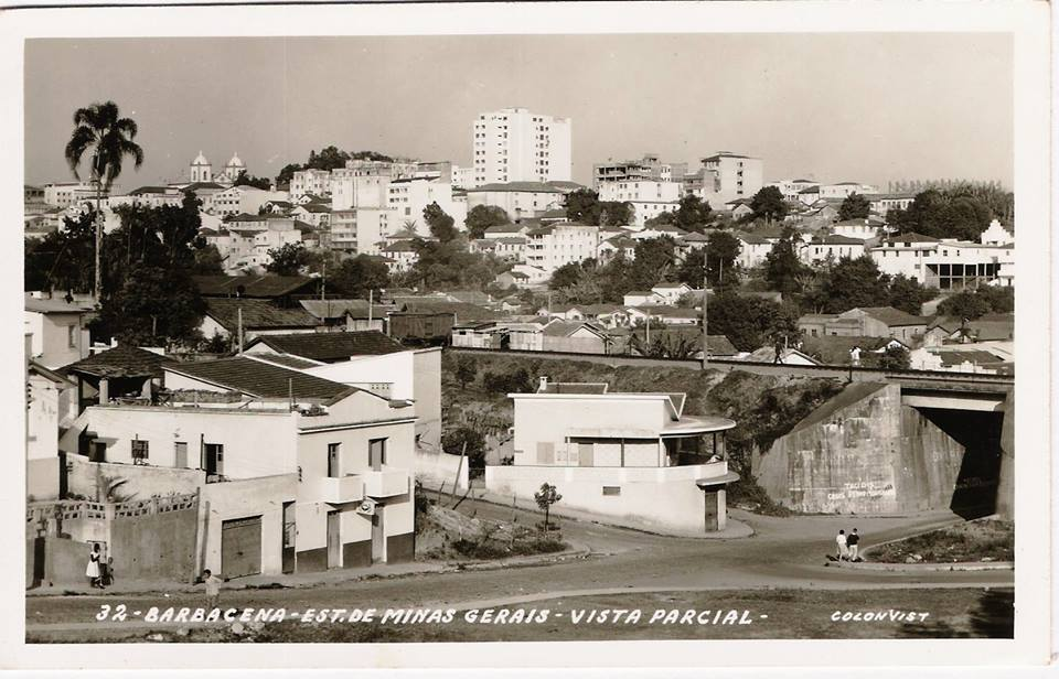 Vista parcial Barbacena MG