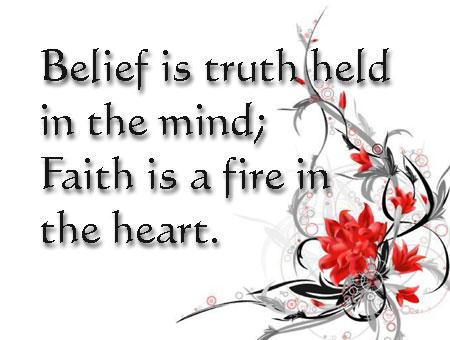 i belive in god