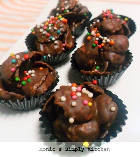 resep membuat coklat cornflakes